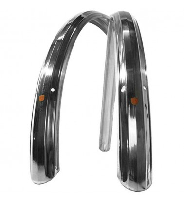 Gardes Boues VO Zeppelin polished 650b 52mm